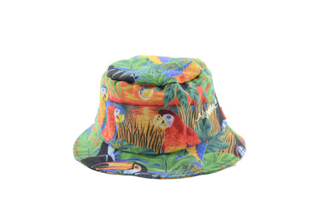 NEW Parrot Print Bucket Hat