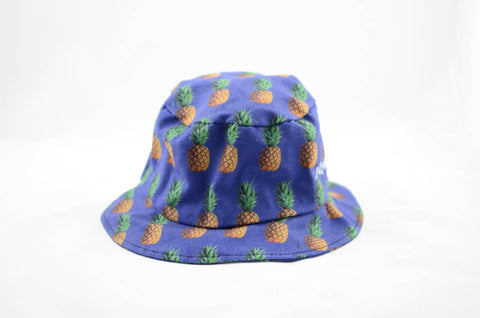 NEW Pineapple Print Bucket Hat