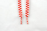 NEW Red and White Shoe Laces