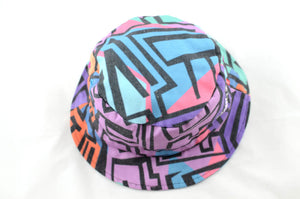 NEW 80's Print Bucket Hat
