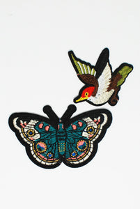 Butterfly Themed Patch Pack