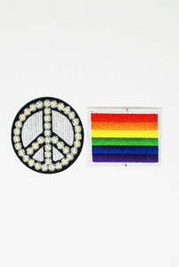 Rainbow Flag Theme Patch Pack
