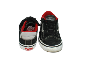 Vans TNT Advanced Trujillo Black Red White Skate Shoes