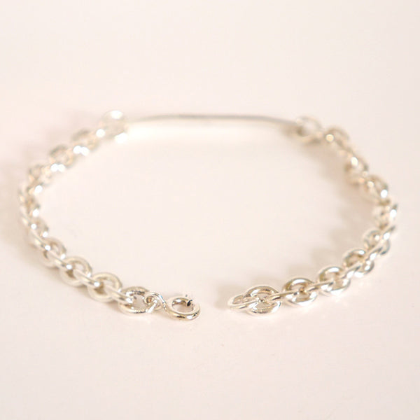 Unisex Personalized Sterling Bracelet