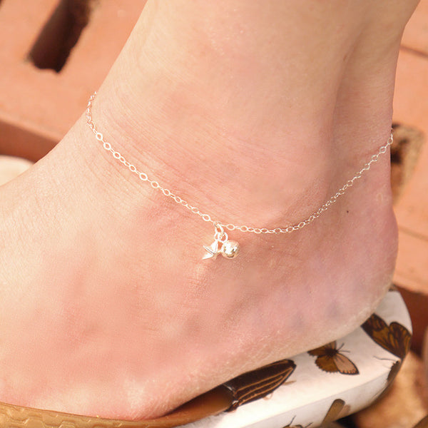 Dainty Anklet with Bell