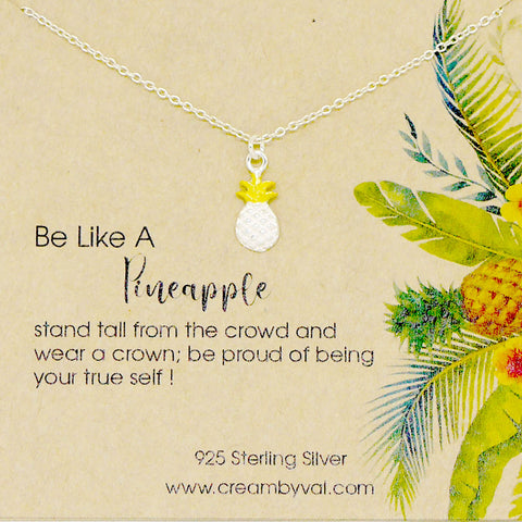 be like a pineapple necklace