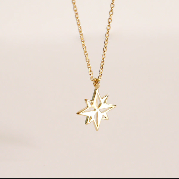 Gold Christmas Necklace