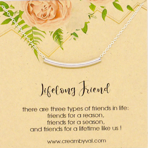 lifelong friend necklace
