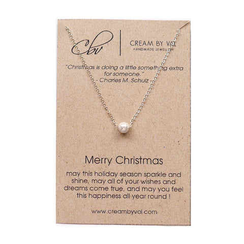 Merry Christmas Necklace