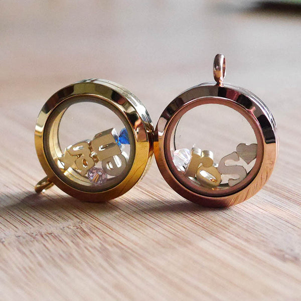 Floating Glass Locket