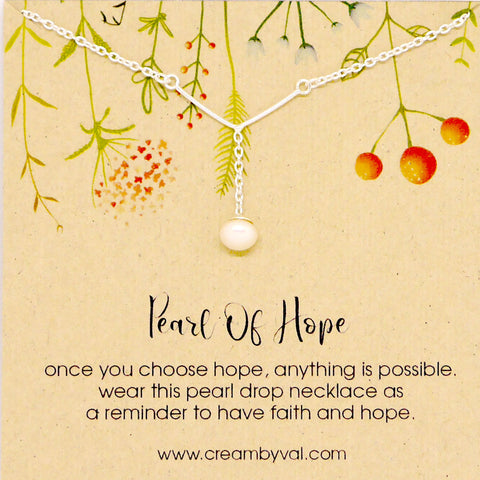 pearl of hope necklace