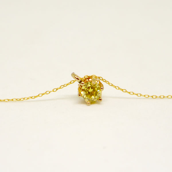 peridot necklace for her