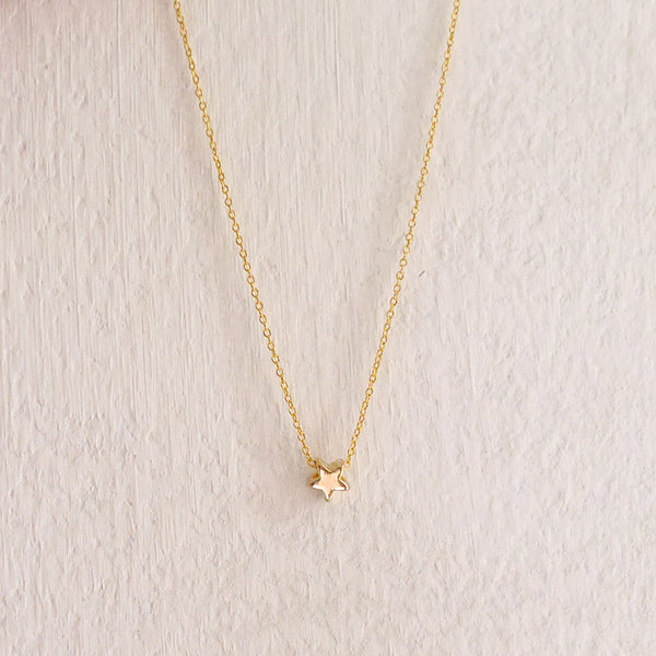 tiny gold star jewelry