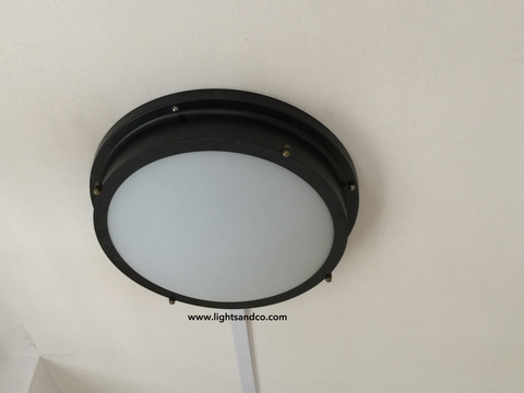 BUNKER Style LED Ceiling Lamp