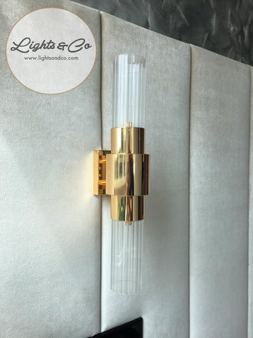 Lighting Singapore - VILLEA Classic Glass Wall Lamp 2