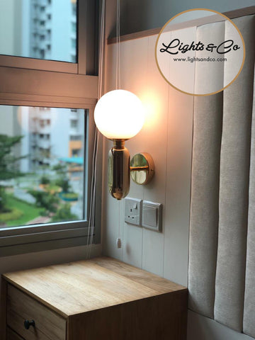 Lightings Singapore - DILLIA Minimalist Wall Lamp