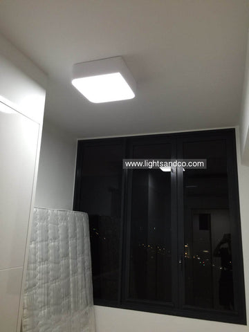 Lighting Singapore - ALEXA LED Geometric Edge Ceiling Light