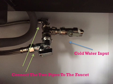 bath, kitchen faucet or tap installation