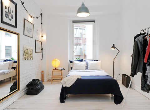 Bedroom Lighting Scandinavian Style
