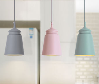 LEWINA Pendant Light in Pastel Colours