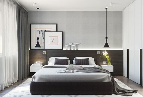 Lightings Singapore - Bedroom with DIXONETTE Pendant Light