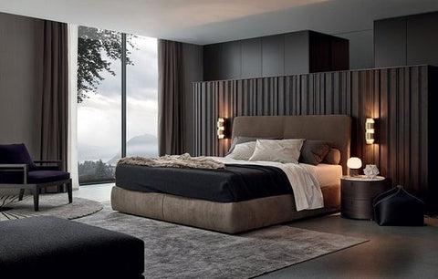 Lightings Singapore - Bedroom with use of Wall Lamps