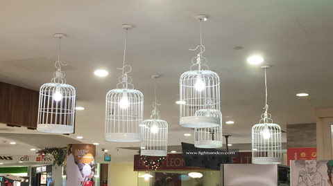 Lights&Co. - DIVANAH Bird Cage Pendant Light