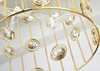 ALOF Crystal Caged Pendant Light (Pre-order)