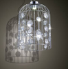 ALOF Crystal Caged Pendant Light