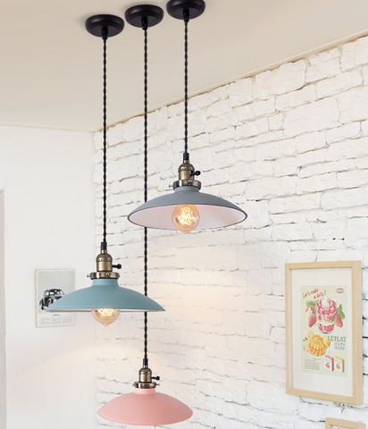 DELPHINUS Hanging Light in Pastel Colours (Pre-order)