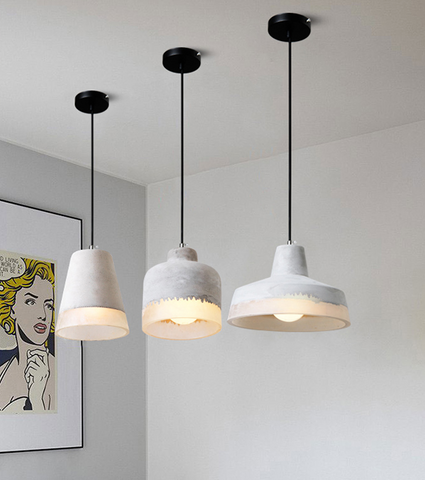 DELIA Cement Pendant Light (Pre-order)