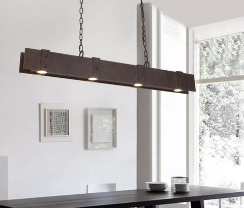 AJAX Raw Industrial Touch Pendant Lamp (Pre-order)