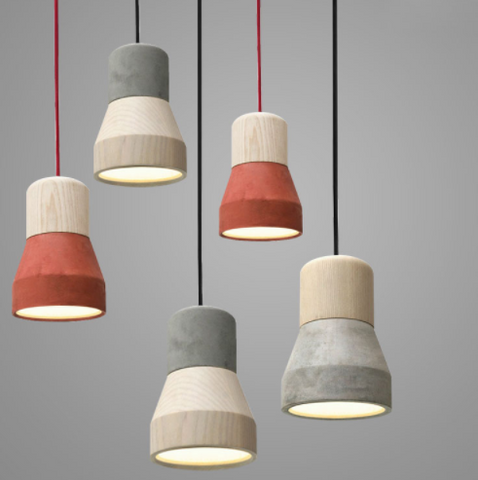 ANDENON Cement Pendant Light (Pre-order)