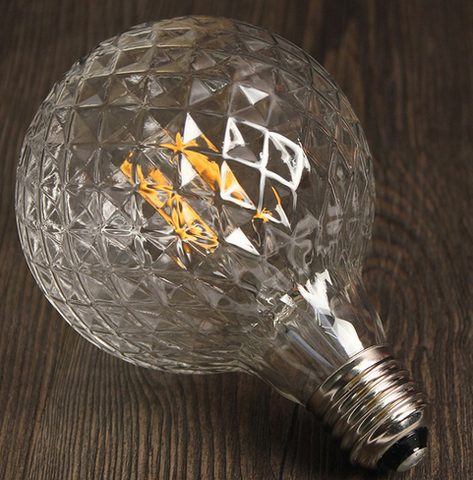 LEIKEN Glass LED Bulb