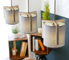 MILLER Textile Shade Hanging Light