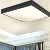 REIKA Geometric LED Ceiling Light in Black with Safety Mark LED Driver