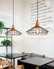 ZINCE Caged Pendant Lights (Pre-order)