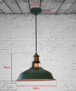 Dimensions of SOUTHPORT Pendant Light in Green
