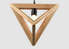 ALMA Geometric Woody Pendant Lamp