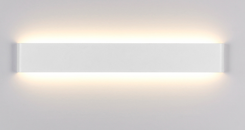 LOMAR Sleek Wall Lamp in White (111cm) (Pre-order)