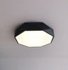 TEVA Octagon Jewel LED Ceiling Lamp in Black with Safety Mark LED Driver