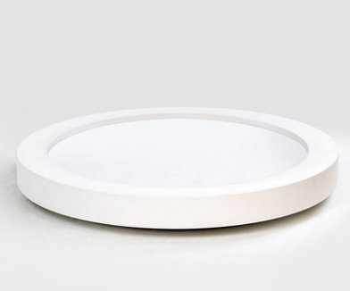 TRAVIS LED Ceiling Light in White with Safety Mark LED Driver