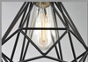 LEIKA Geometric Pendant Lamp in Black (Pre-order)