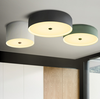CAPELLA Contemporary LED Ceiling Light in Green
