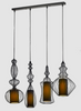 COPULA Pendant Light Set with Rectangular Panel