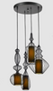 COPULA Pendant Light Set with Round Panel