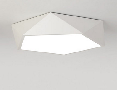 LEXA Geometric LED Ceiling Light (White)