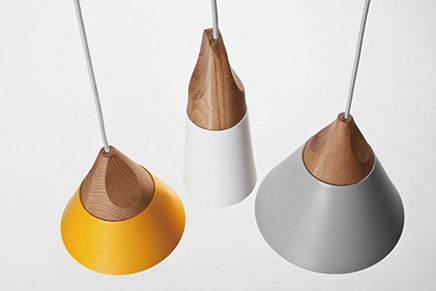 CONNELL Coned Woody Pendant Lamp