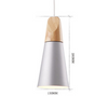 CONNELL Coned Woody Pendant Lamp (Pre-order)