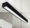 KOERT Rectangular Case Pendant Lamp in Black (90cm)
